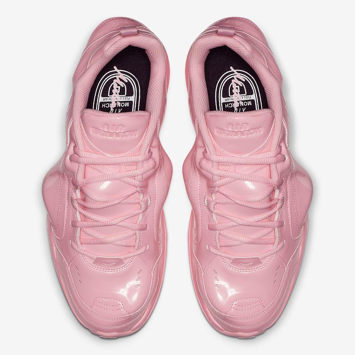 Martine Rose Nike Air Monarch Pink Release Date