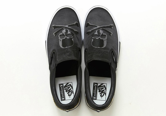 mastermind Japan And Vans To Release Capsule Collection Highlighted By The Slip-On