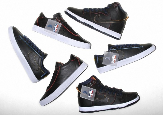 huge selection of bfbe6 e3329 Where To Buy The NBA x Nike SB Wear-Away Leather Pack