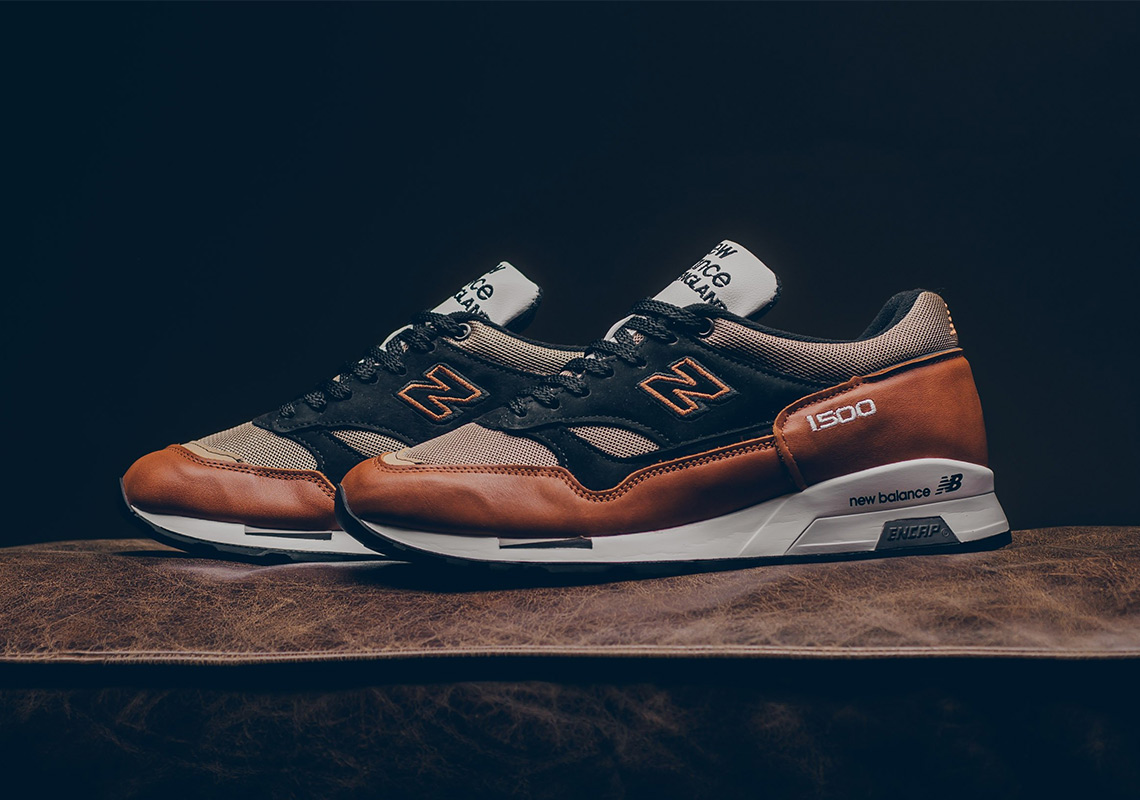 competitive price 062ad bb5f4 The New Balance 1500 Made In UK Features Supple Brown Leathers