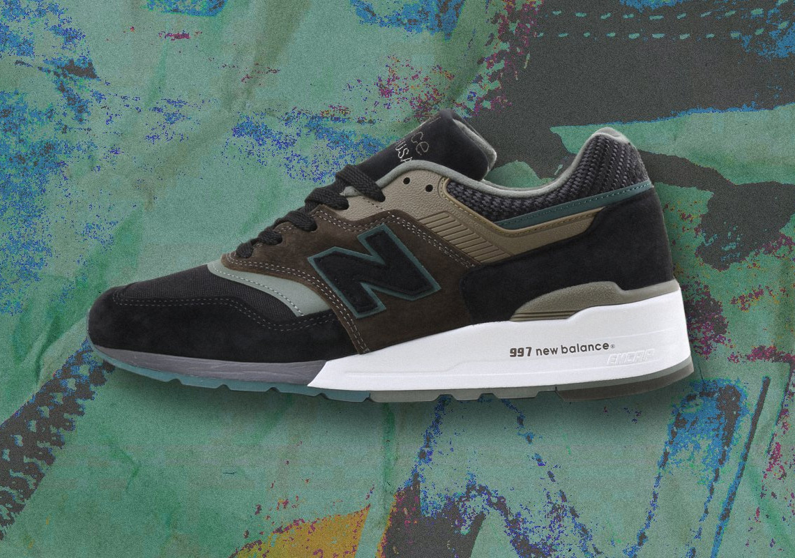 huge selection of fc169 e689f New Balance 997 Made In USA Black + Olive Info | SneakerNews.com