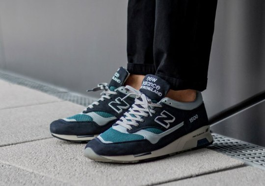New Balance Refines The Basics With A Navy And Grey 1500