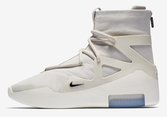 "Nike Air Fear Of God 1 ""Light Bone"" Releasing On January 12th"