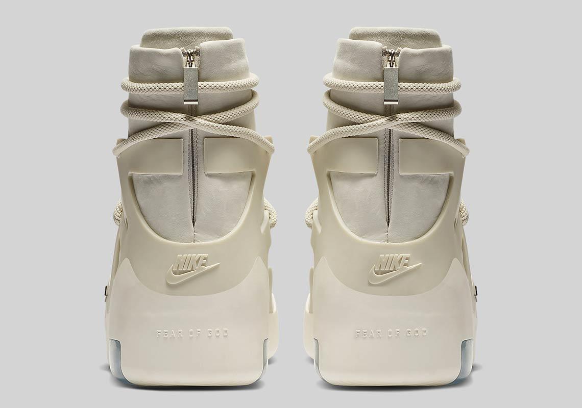 best cheap 16f3f 52096 Nike Air Fear Of God 1 Light Bone AR4237-002 Release Date ...