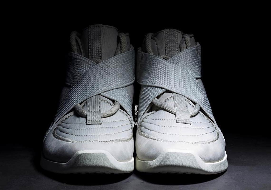 new concept 62814 5693f Nike Air Fear Of God 180 Light Bone AT8087-001   SneakerNews.com