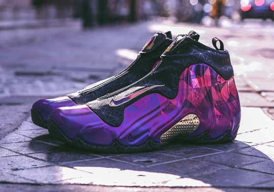 """Nike Air Flightposite One """"Chinese New Year"""" Features Tradtional Geometric Patterns"""