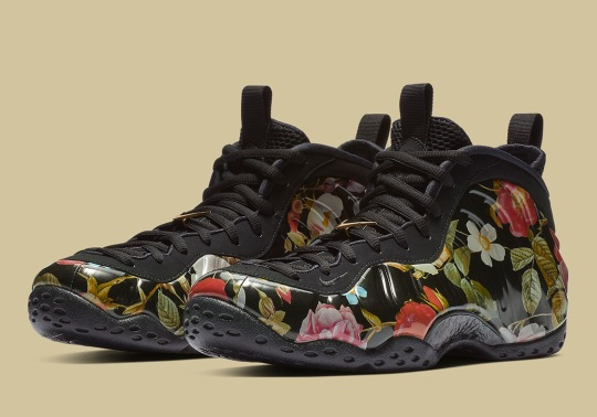 """Nike Air Foamposite One """"Floral"""" Releases On Valentine's Day"""