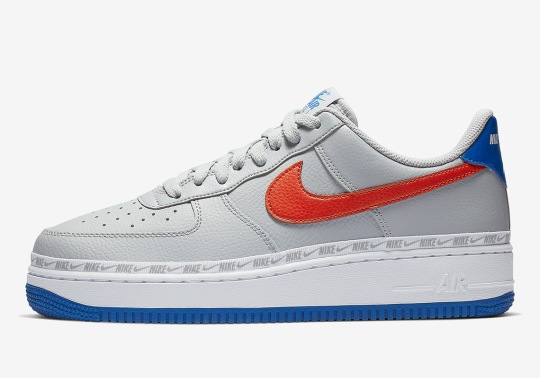 The Ribboned Nike Air Force 1 Arrives In Knicks Themes