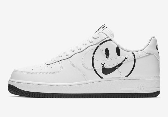 "The ""Have A Nike Day"" Smiley Face Appears On The Nike Air Force 1"