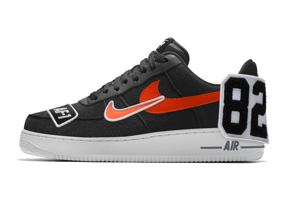 nouveau style 94b0b 863ab Nike Air Force 1 NIKEiD By You Patches | SneakerNews.com