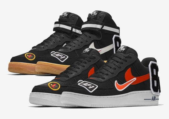 Nike Is Now Letting You Add Patches To The Air Force 1 iD