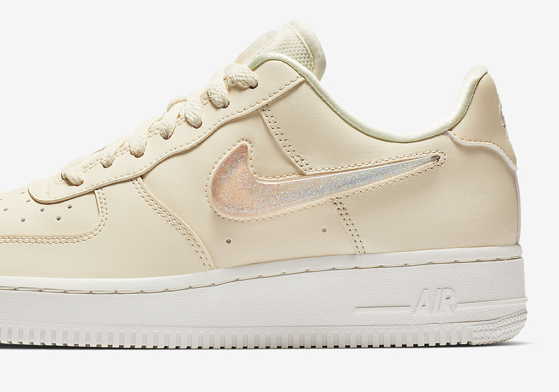 8944a3a06491 Nike Air Force 1 Womens Jelly Swoosh AH6827-100 Info