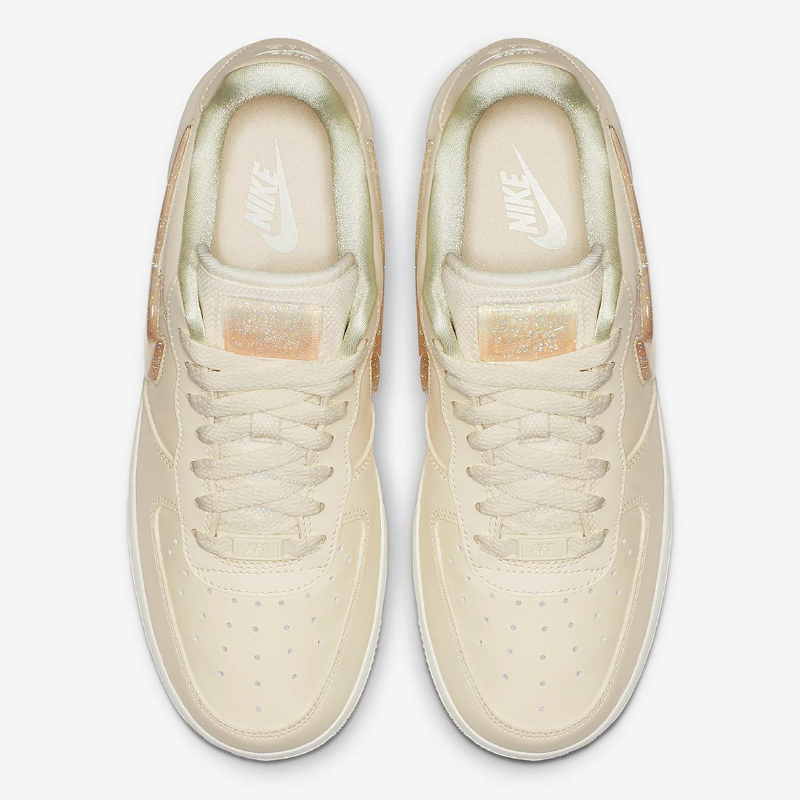 outlet store 1b4c6 406af Nike Air Force 1 Womens Jelly Swoosh AH6827-100 Info   SneakerNews.com