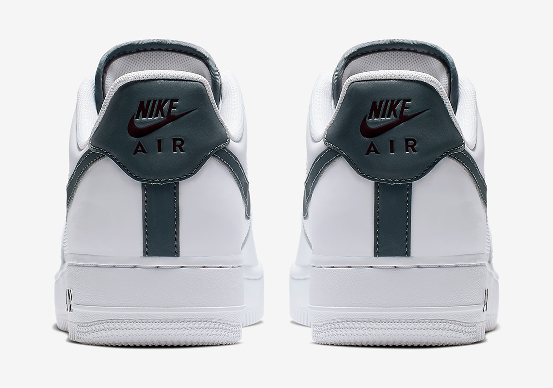 d2f4ccd5c9d0 Nike Adds Sleek Grey Accents To The Air Force 1 Low