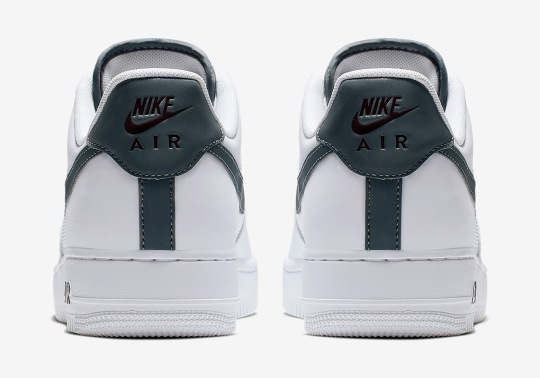 Nike Adds Sleek Grey Accents To The Air Force 1 Low