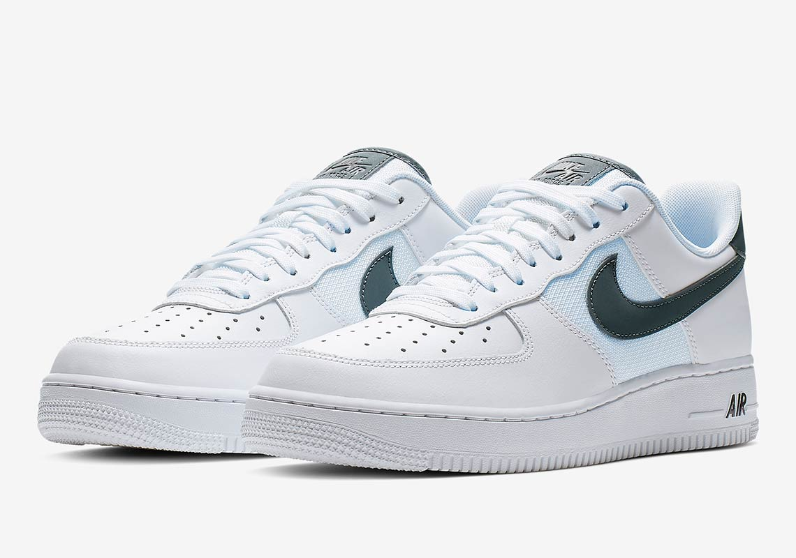 253cb4653d74 Nike Air Force 1 Low White Grey BV1278-100 Info