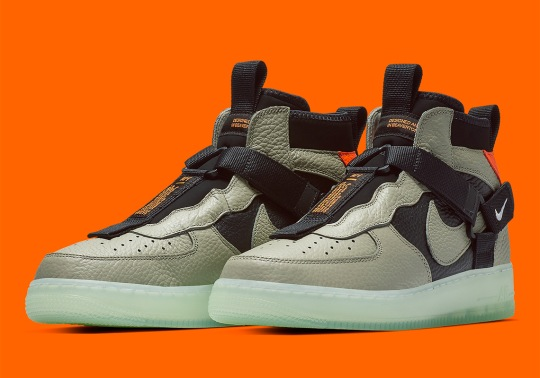 """Where To Buy The Nike Air Force 1 Mid Utility """"Spruce Fog"""""""