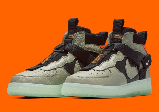 "Where To Buy The Nike Air Force 1 Mid Utility ""Spruce Fog"""