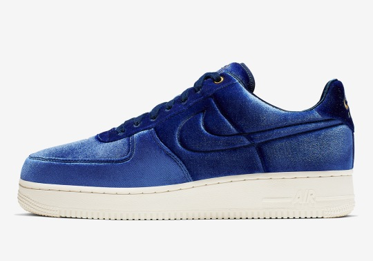 Nike Adds Velour Uppers To The Air Force 1 Premium