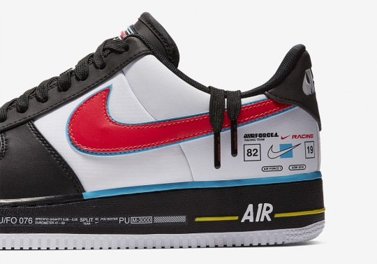 Nike Presents A Racing-Inspired Air Force 1 For All-Star Weekend