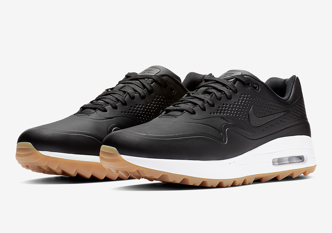 wholesale dealer 1254d 2f4b6 Nike Air Max 1 Golf $120. Color:Black/White-Gum Medium Brown