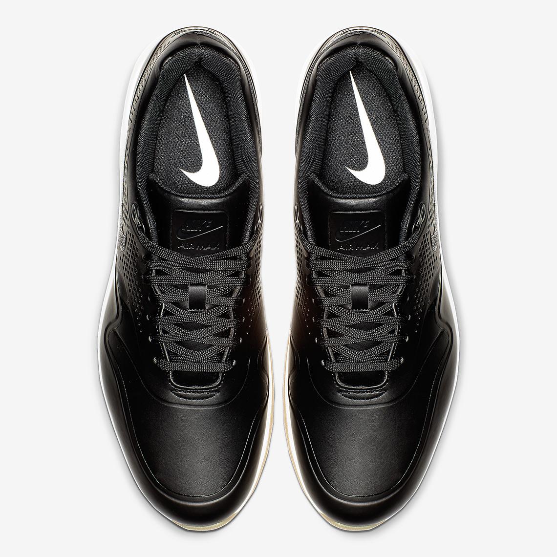 new style 3067c a70bc Nike Air Max 1 Golf  120. Color Black White-Gum Medium Brown