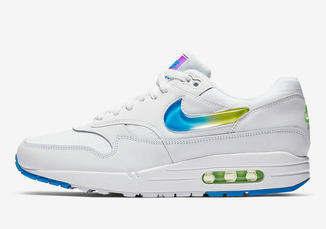 fast delivery lowest price top quality Nike Air Max 1 Jewel Swoosh AO1021-101 Info | SneakerNews.com