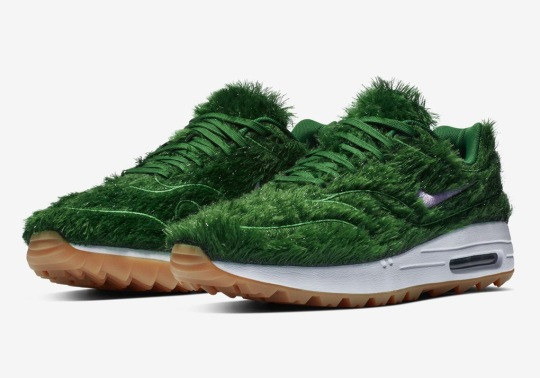 Nike Unveils The Air Max 1 Golf Shoe With Green Grass Uppers