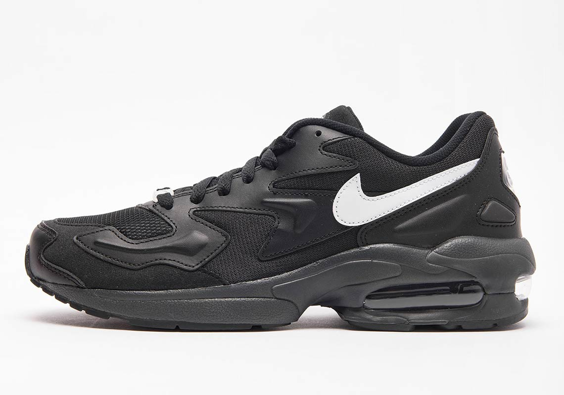 premium selection b0216 2bbe7 Nike Air Max 2 Light  150. Color  Black White-Anthracite
