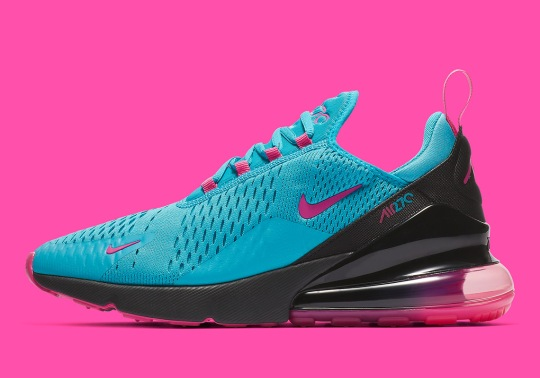 This Nike Air Max 270 Is Ready For The Beach