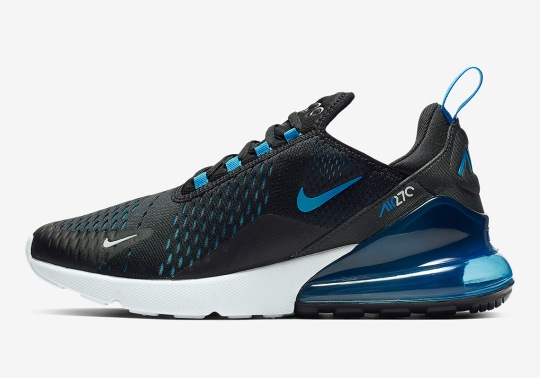 """Nike Air Max 270 """"Blue Fury"""" Coming To Stores On February 28th"""