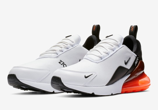 Nike Air Max 270 Features Micro-Perforated Leather Uppers