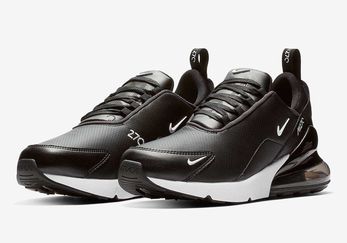 release date 8db2c 6543b Nike Air Max 270 Premium Black White BQ6171-001   SneakerNews.com