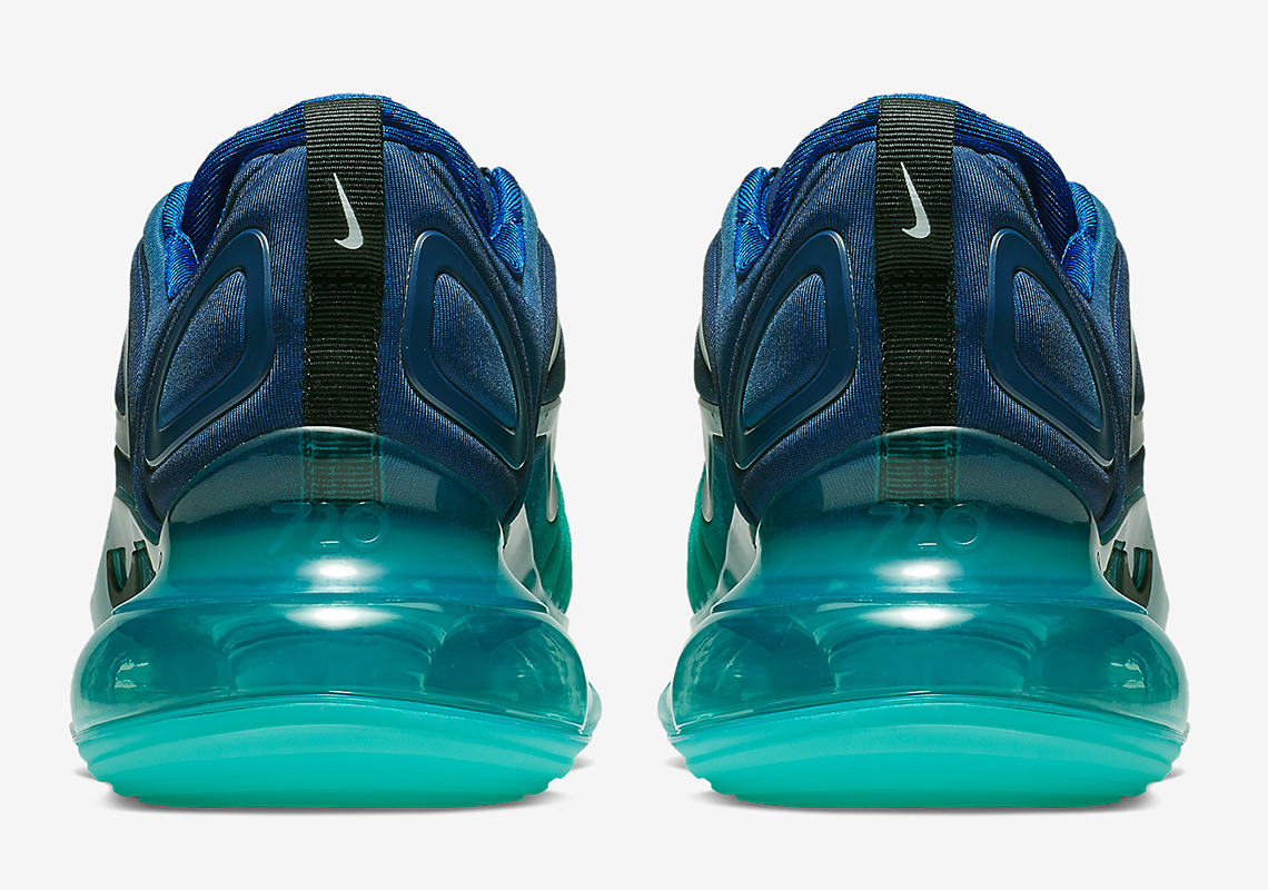 promo code b2ddb 22f75 nike air max 720 royal blue Nike Air Max 720 Green Carbon Release Info