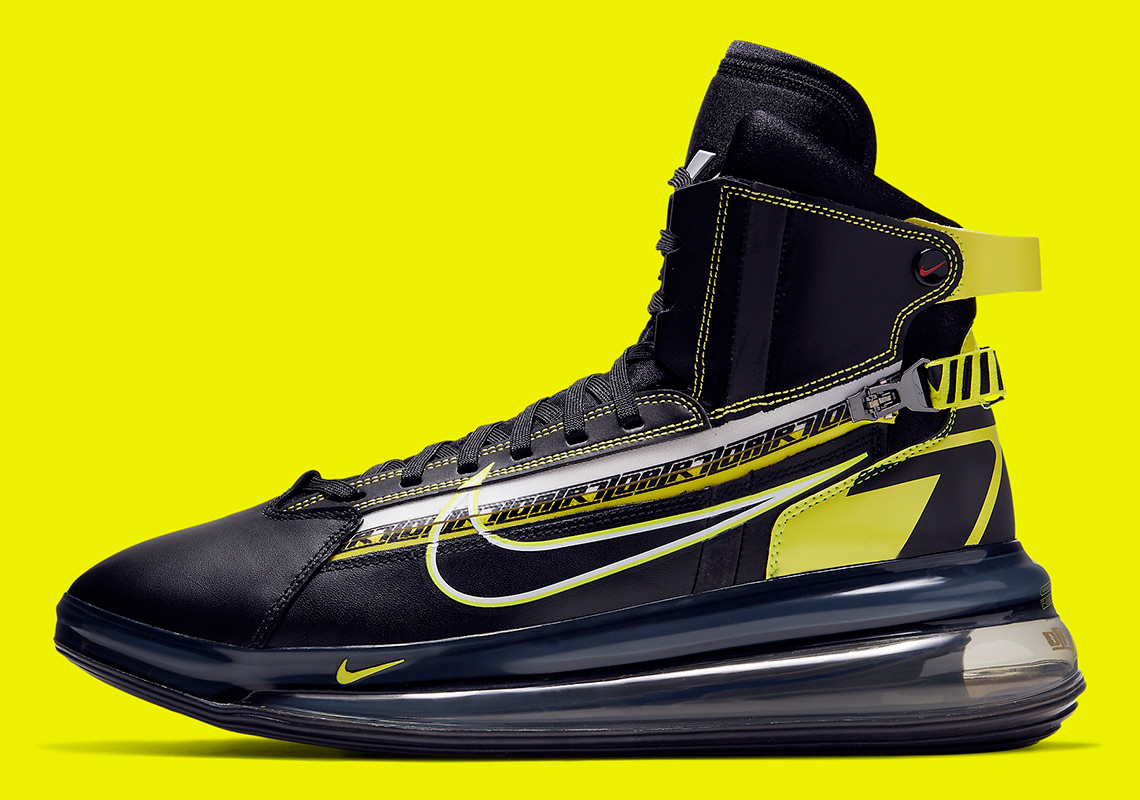 reputable site 1a9eb ce5f7 Nike Air Max 720 Saturn All-Star BV7786-001 Release Info ...