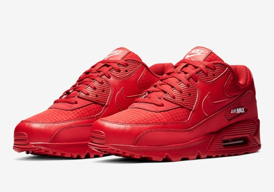 Another Nike Air Max 90 Is Coming In All-Red