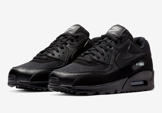 The Nike Air Max 90 Essential Arrives In Black And White