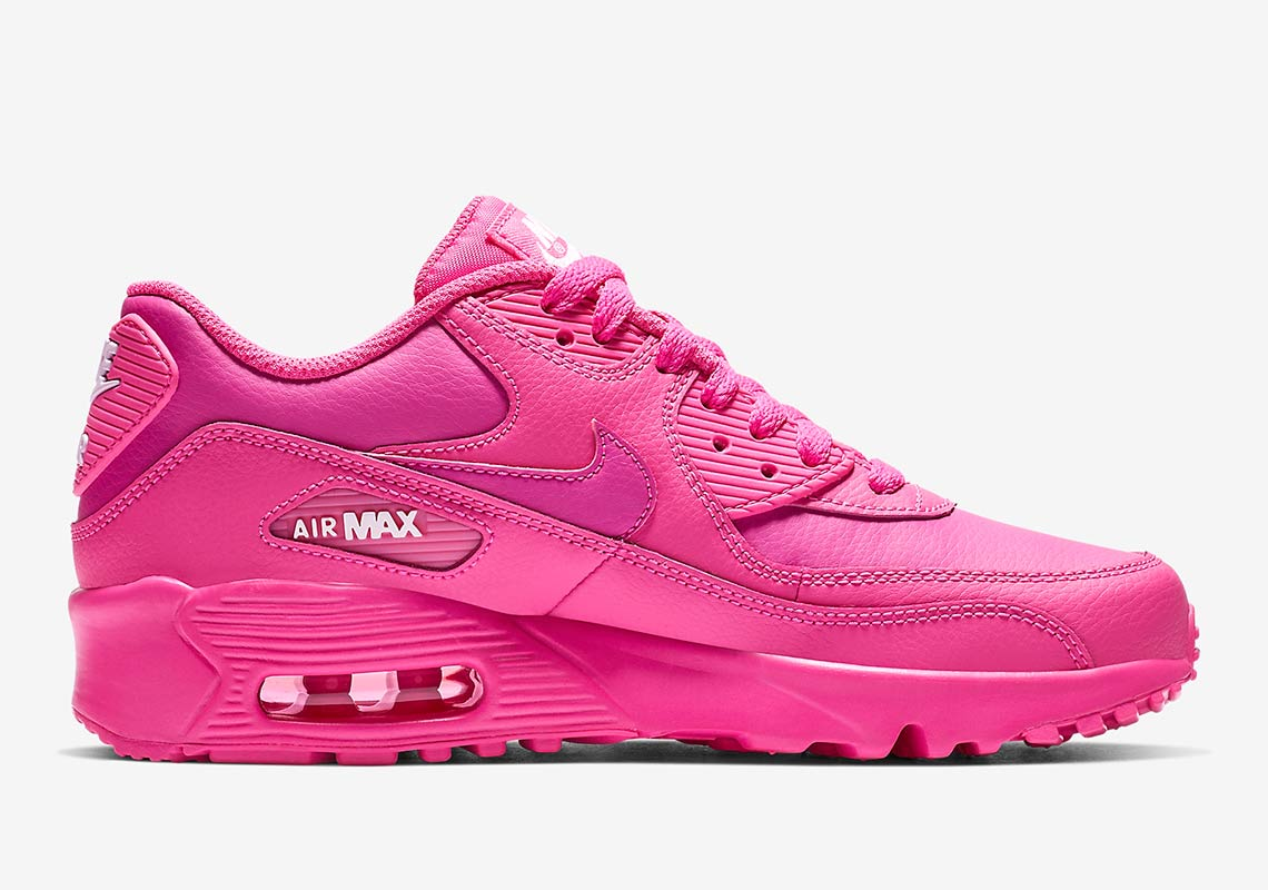 Nike Air Max 90 GS 833376 603 Pink Buying Guide