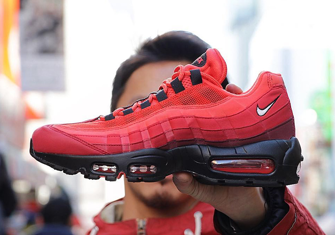 "de45412d8e9 Nike Air Max 95 OG ""Habanero Red"" Set To Drop In Spring 2019"