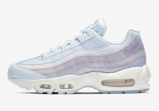 This Nike Air Max 95 Uses Translucent Materials On The Upper