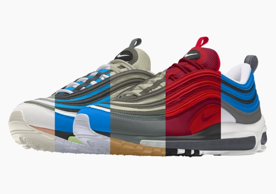 You Can Now Make Your Own Colorway Of The Nike Air Max 97