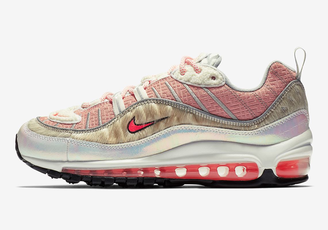 "7b492c062849 Official Images Of The Nike Air Max 98 ""What The Chinese New Year"" For Women"