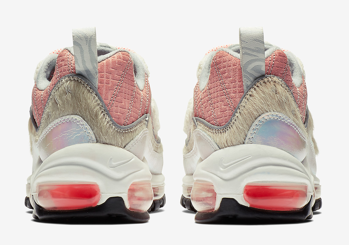 """38cc7a719c41 Nike Air Max 98 """"What The Chinese New Year"""" Color  Bleached Coral Bright  Crimson-Sail Style Code  BV6653-616. show comments"""