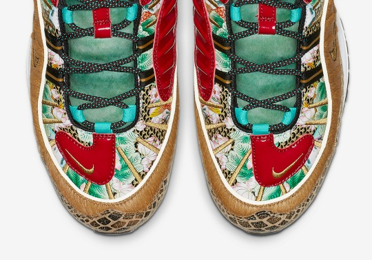 """Official Images Of The Nike Air Max 98 """"Chinese New Year"""""""