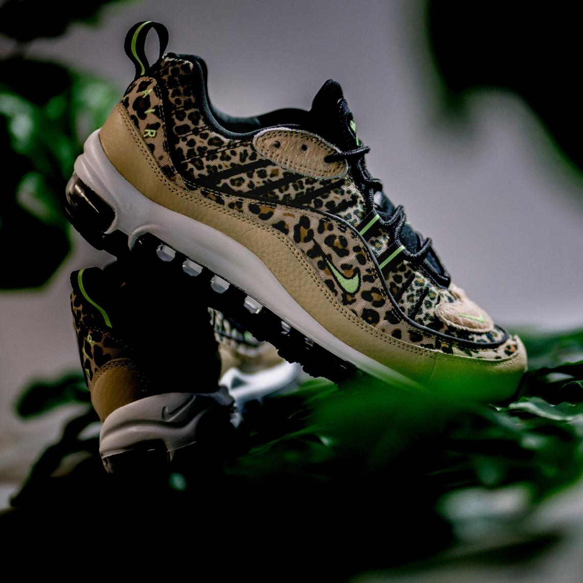 espalda presentación jugo  Nike Air Max 95 + Air Max 98 Leopard Store List | SneakerNews.com