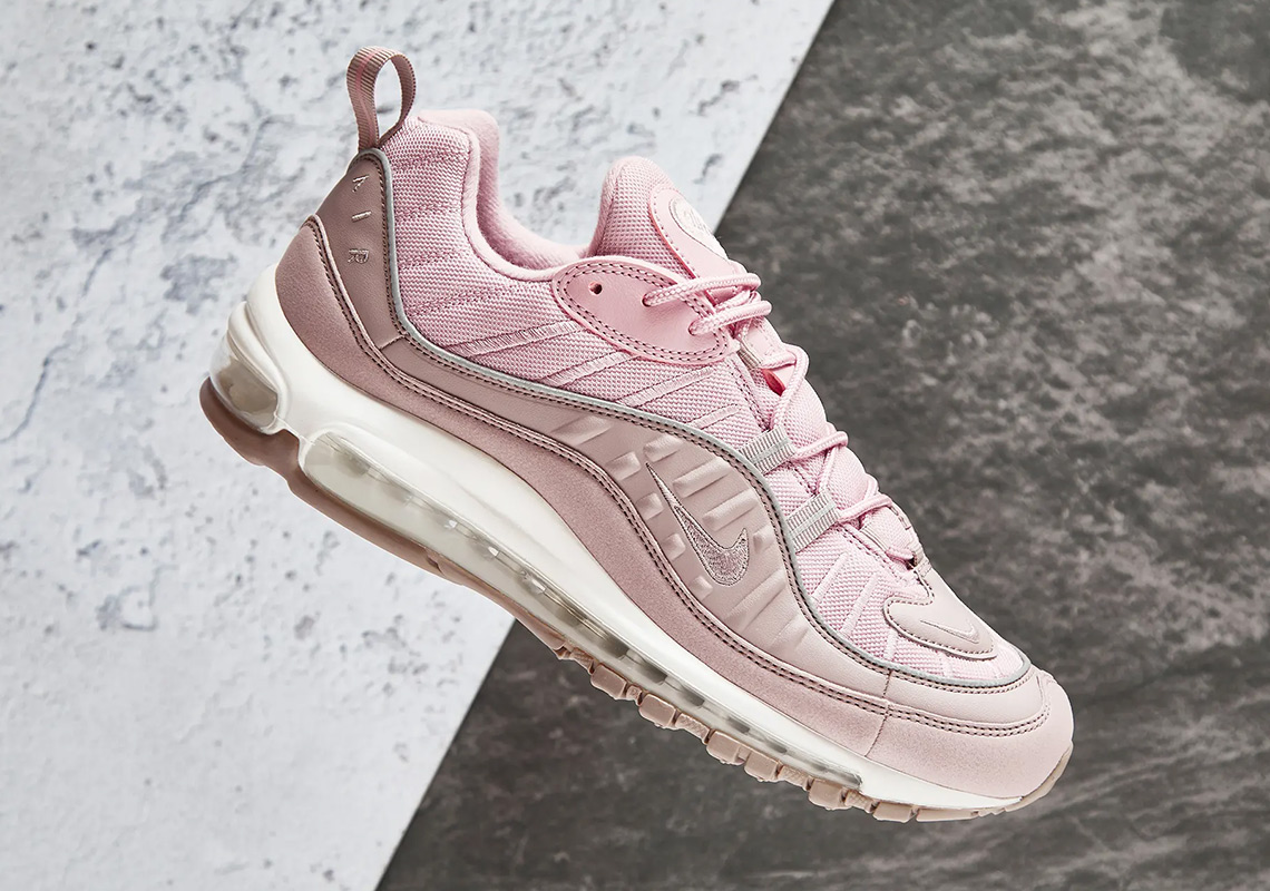 "official photos 03954 23389 Where To Buy The Nike Air Max 98 ""Pumice"""