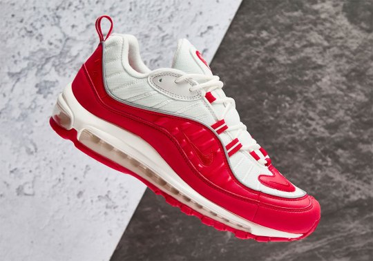 "Where To Buy The Nike Air Max 98 ""University Red"""