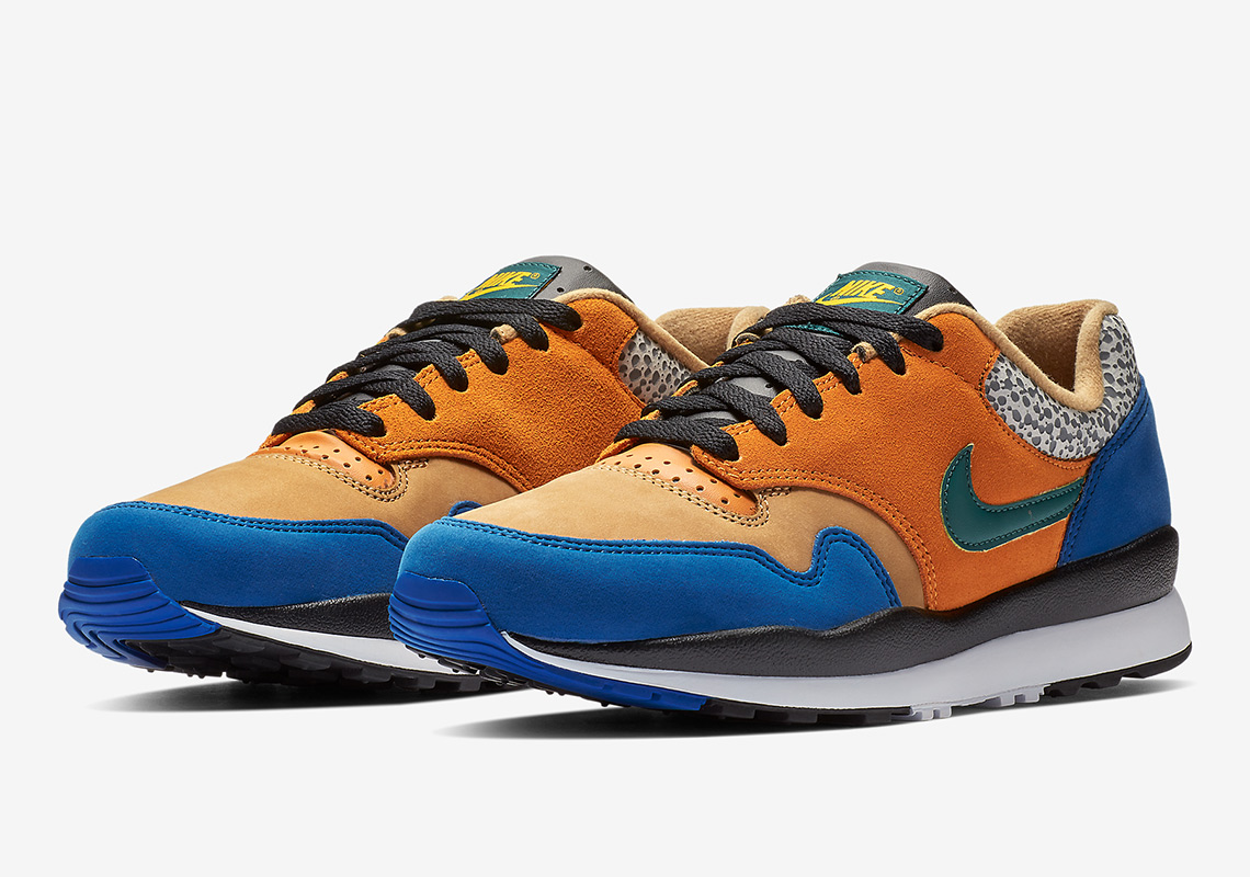 "buy online 24c2f 2cd66 The Nike Air Safari ""Atmos"" Returns With Blue Suede"
