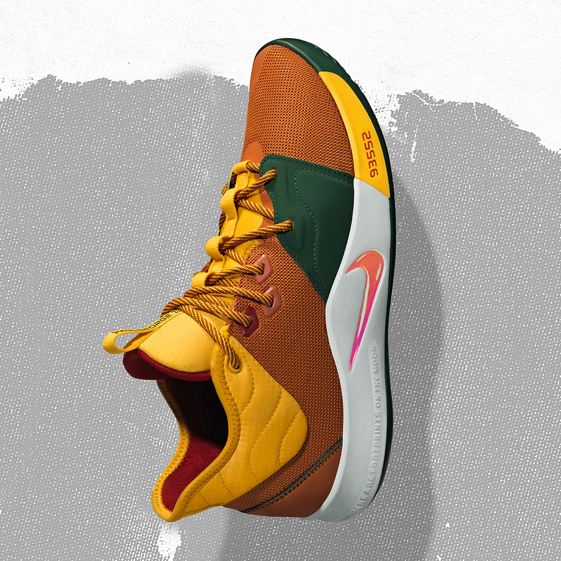 2ebe87df431 Nike combines Paul George s newest signature shoe with a classic  outdoors-ready ACG color palette. Release Date  February 15th
