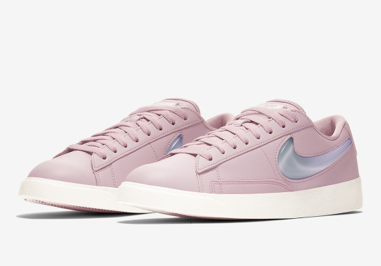 "Nike Blazer Low ""Jelly Swoosh"" Arrives In Three Colorways For Women"